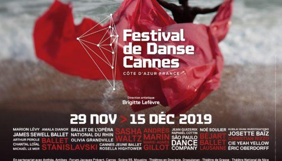 Affiche Festival de Danse Cannes 2019