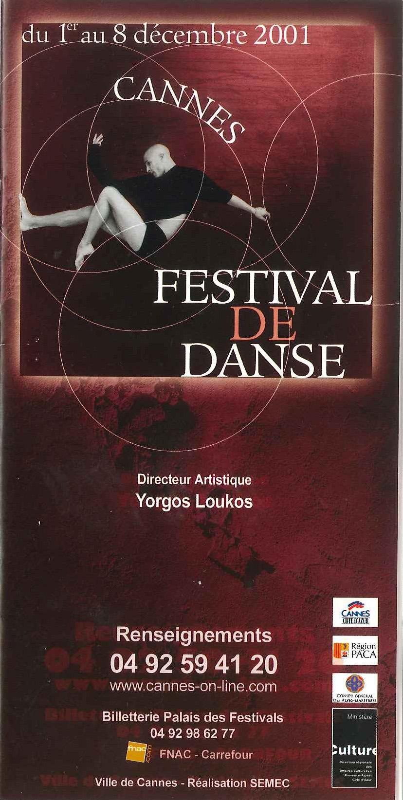 Festival de Danse Cannes 2001