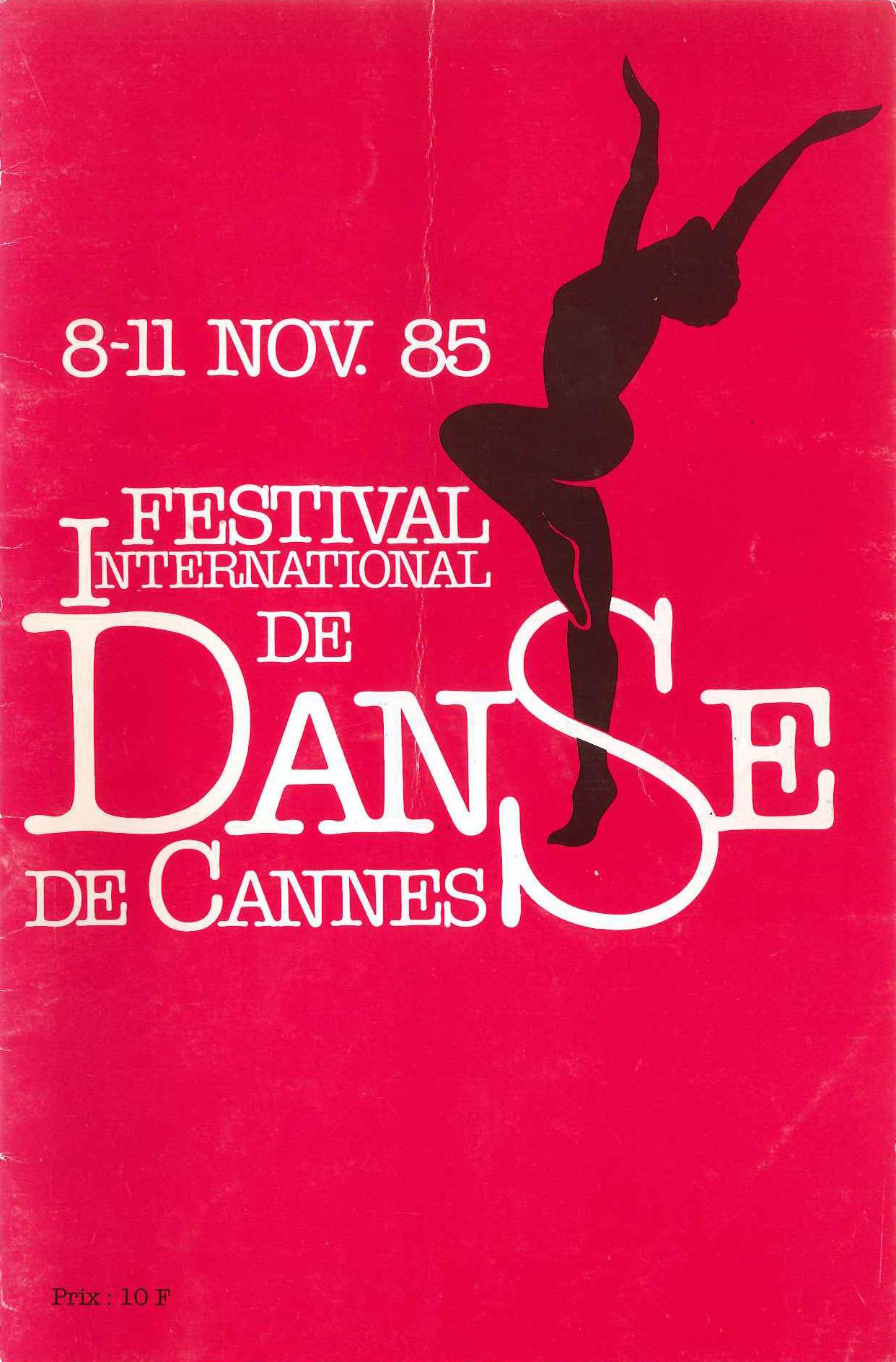 Festival de Danse Cannes 1985
