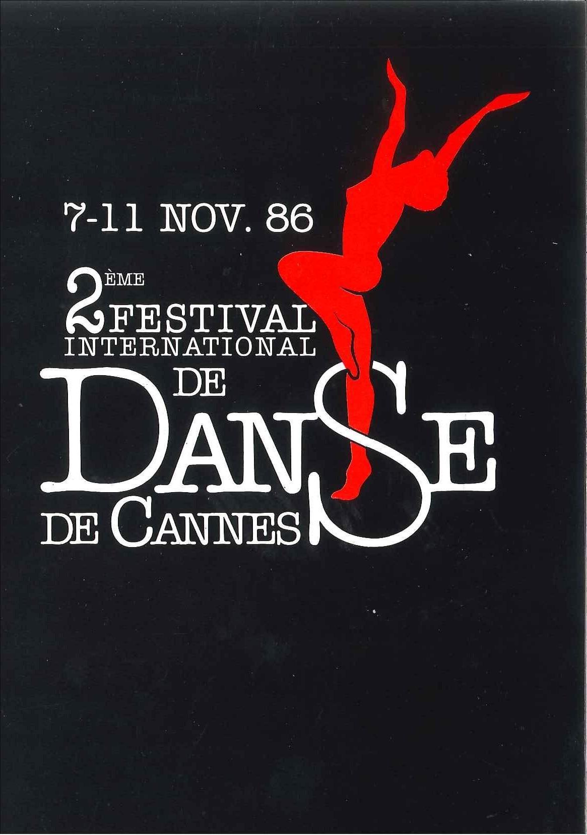 Festival de Danse Cannes 1986