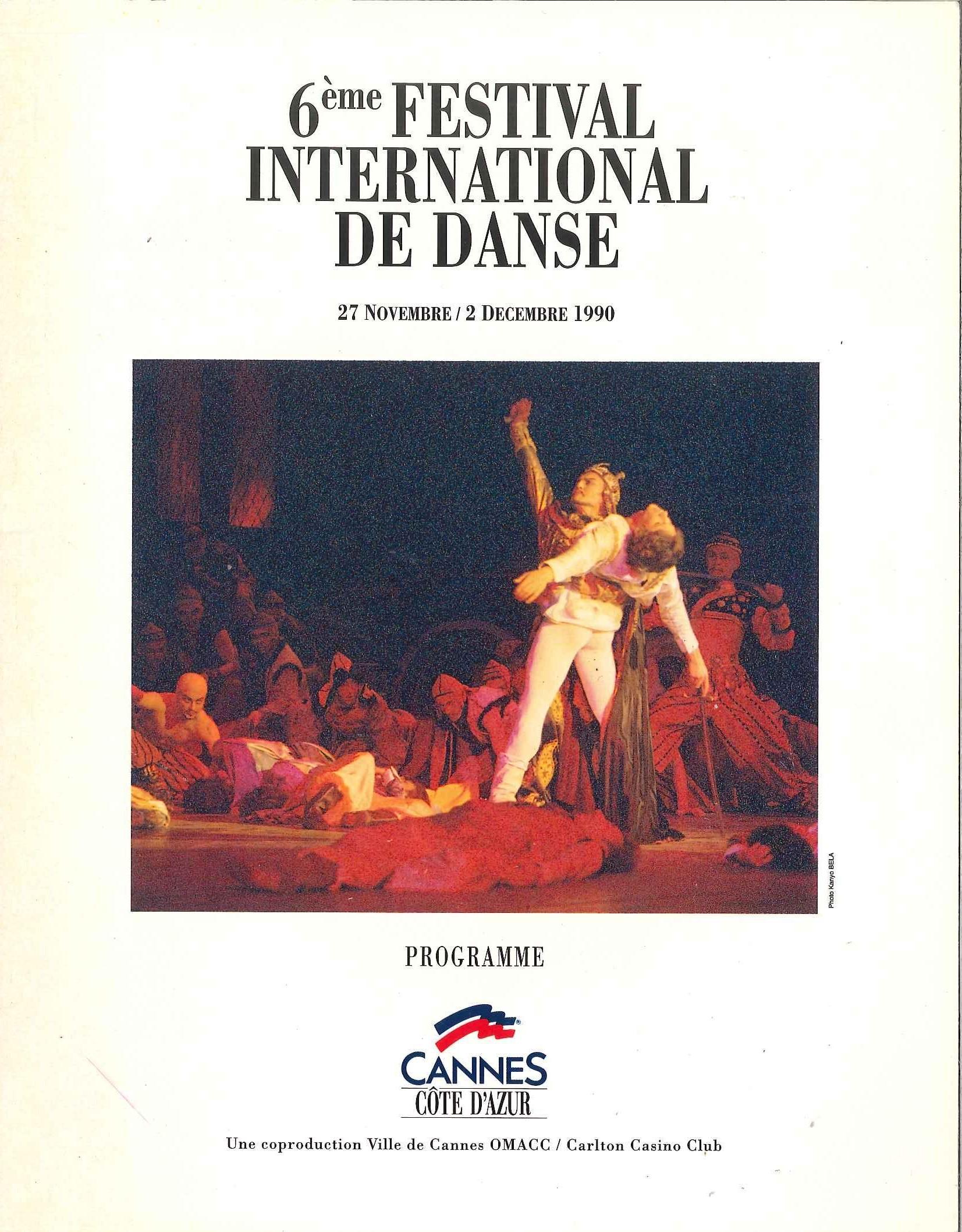Festival de Danse Cannes 1990