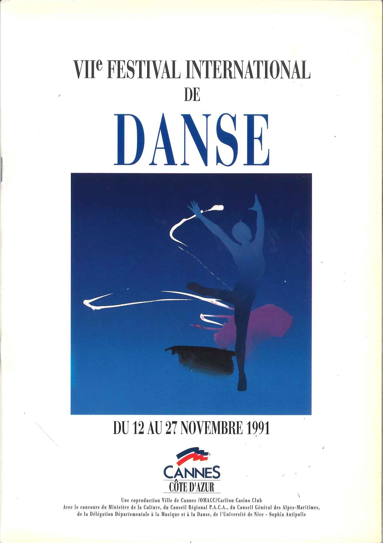 Festival de Danse Cannes 1991