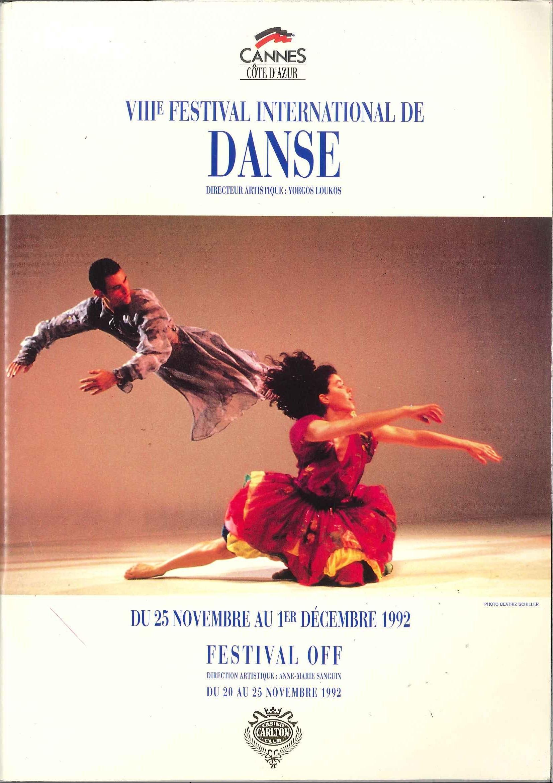Festival de Danse Cannes 1992