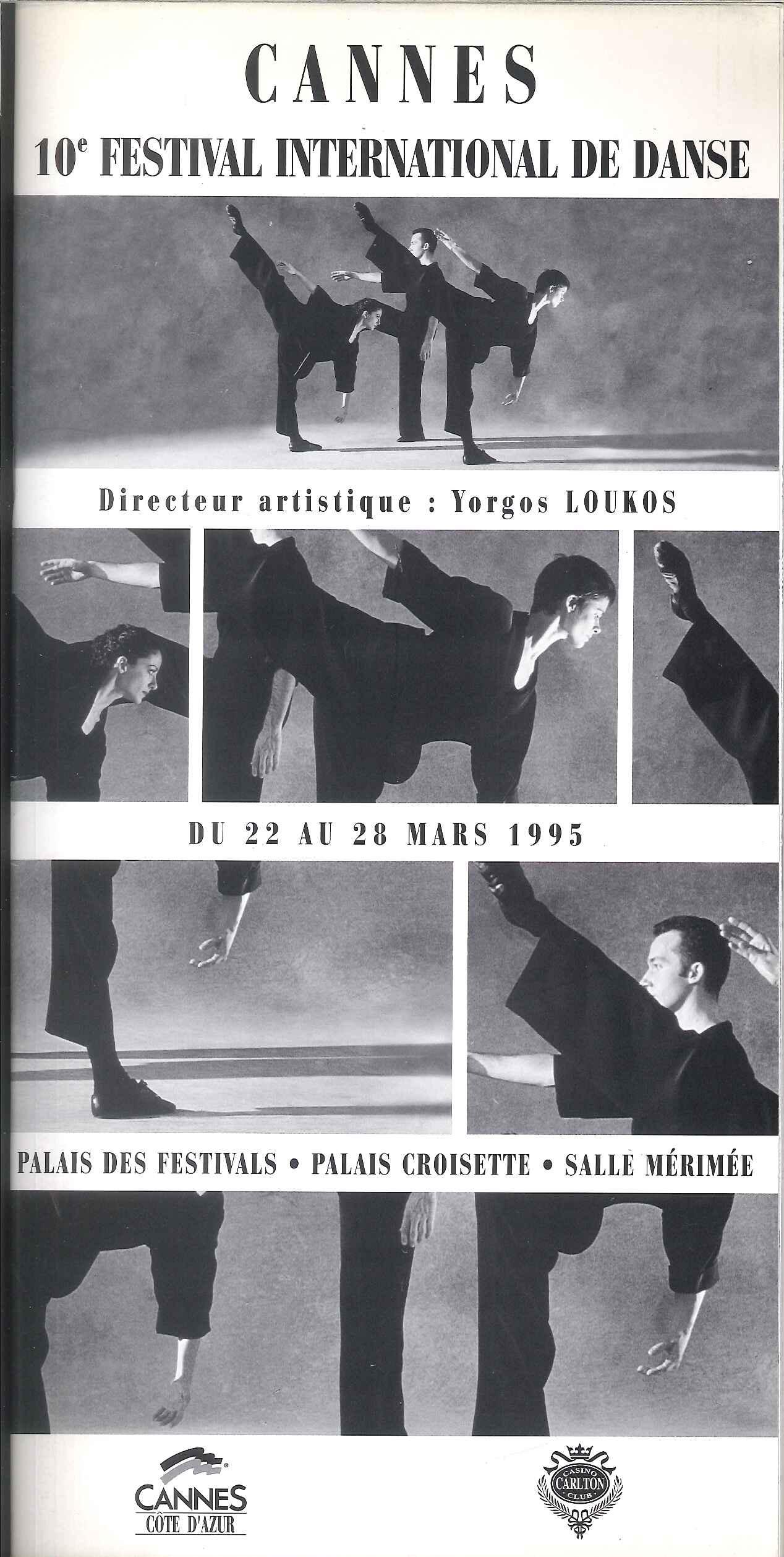 Festival de Danse Cannes 1995