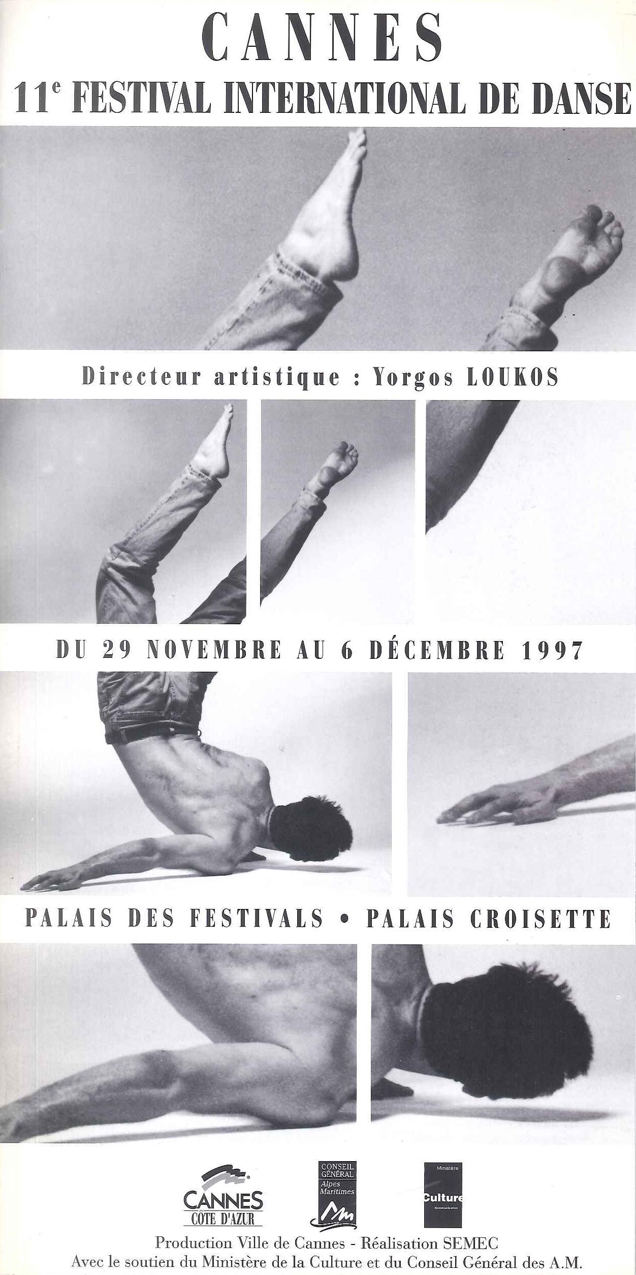 Festival de Danse Cannes 1997