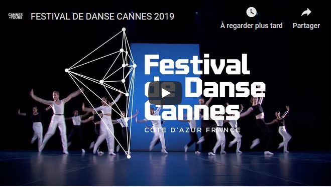 TEASER Festival de Danse cannes – Côte d'Azur 2019
